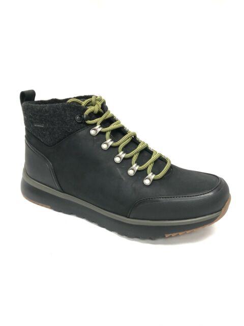 UGG Australia Olivert Men's Lace Up Ankle Boot Shoe Waterproof Black 1017275
