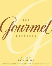 The Gourmet Cookbook: More Than 1000 Recipes-ExLibrary