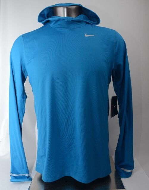 cfb02fcd6 Nike Dri-Fit Pullover Lightweight Blue Men's Size M New with Tags 683638 465