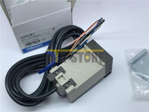 New Omron Fiber Optic Amplifier Photoelectric Sensor E3X-NM11 E3XNM11 12-24VDC