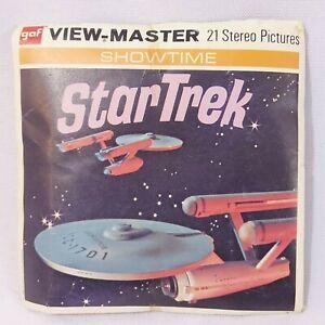 Star-Trek-Viewmaster-GAF-1968-Packet-B499-3-Reel-Set-With-Booklet