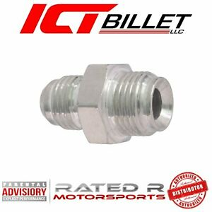 Billet Brass Power Steering Adapter Fitting GM Pumps Bump Tube to Flare