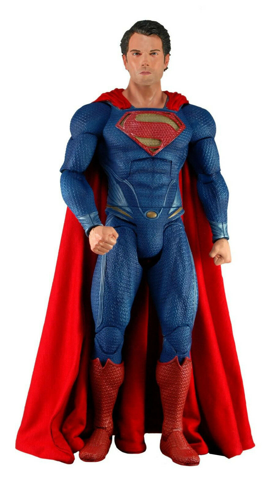 NECA Man of Steel Collection__SUPERMAN 1:4 Scale action figure_18 inches_MIB_Nuovo