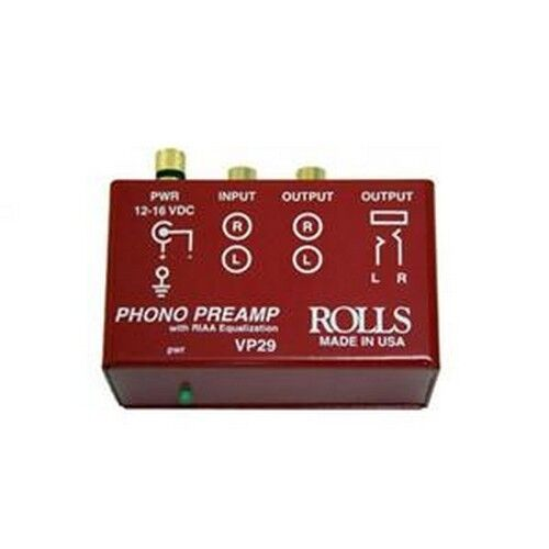 Rolls VP29 Phono Preamplifier