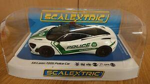 SCALEXTRIC-C4056-McLaren-7205-Police-car-with-Siren-amp-Roof-Light