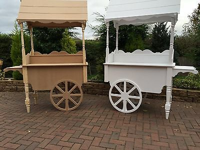 Sweet carts for sale, candy carts fully collapsable, wedding sweets favours wood
