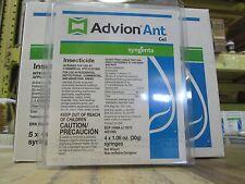 4 30cc Tubes of  Advion Ant Bait Gel Carpenter Ants, Pharaoh Ants, Fire Ants