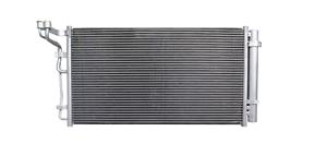 Clima radiador condensador aire acondicionado Hyundai Genesis Equus 3,8b 976063m160