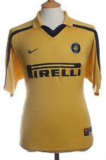 Inter de Milán, Circa. 1990, * Rara * de distancia réplica Camisa (Seminuevo) m