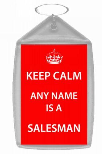 Vendeur Personnalisé Keep Calm trousseau