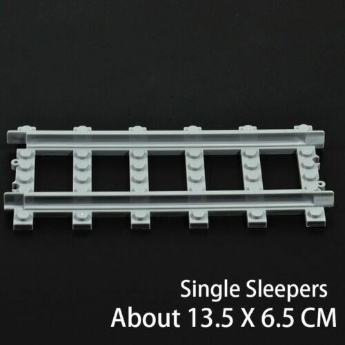 Ausini Flexible City Compatible Legoed Trains Rails Track Railway model sets