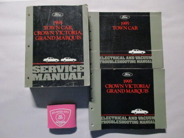 1995 Ford Town Car Crown Victoria Grand Marquis Service