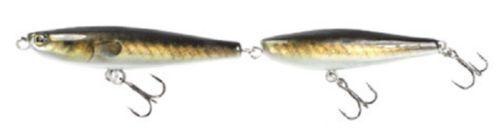 "Lunkerhunt Link Topwater Walking Bait American EEL 5//8 oz 6.75/""  BIG BASS"