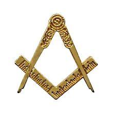 Freemasons Masonic Memento Mori Crossbones Square /& Compass Steampunk Lapel Pin