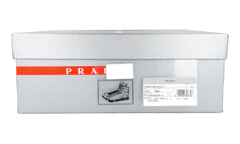AUTHENTIC LUXURY PRADA SNEAKERS SNEAKERS SNEAKERS SHOES 3T5770 BLACK NEW US 10 EU 40 40,5 UK 7 571f15