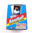 1992 Topps Baseball Picture Cards 36 Count Case Factory