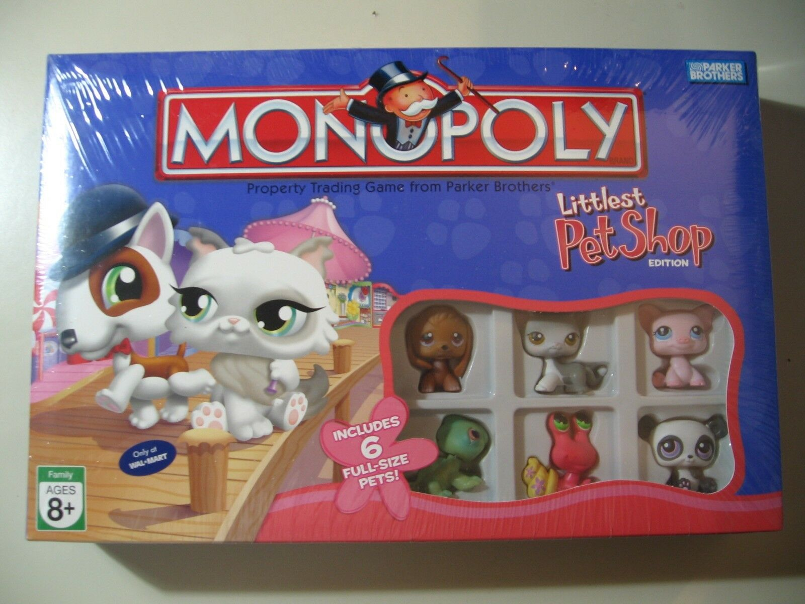 Monopoly: Littlest Pet Shop Edition 2007, board game, Brand New and Sealed