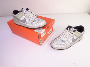 timeless design 46296 d8bea Image is loading Men-039-s-Nike-Dunk-Low-Reflector-Shoes-