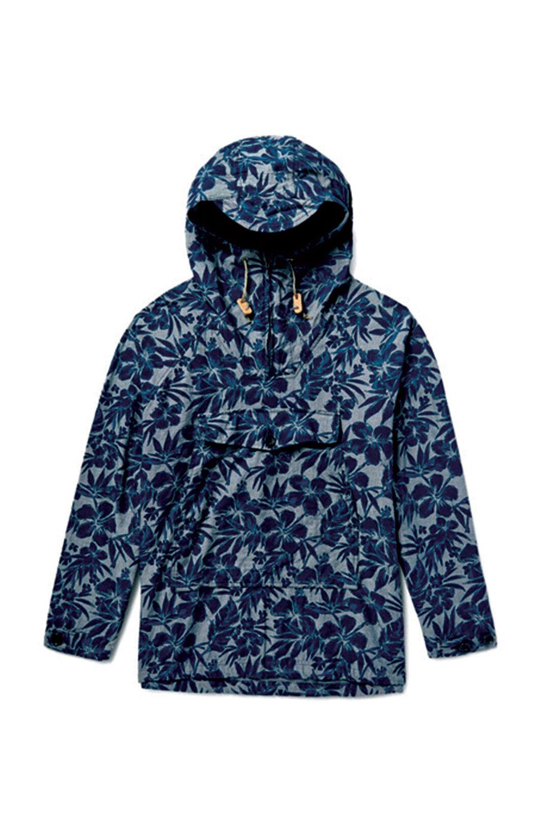 Battenwear Scout Anorak in Tropical Print, Größe Small - BNWT,