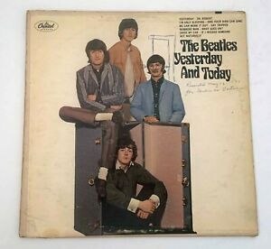 The Beatles Yesterday and Today Vinyl LP Record Trunk Cover Capitol T 2553