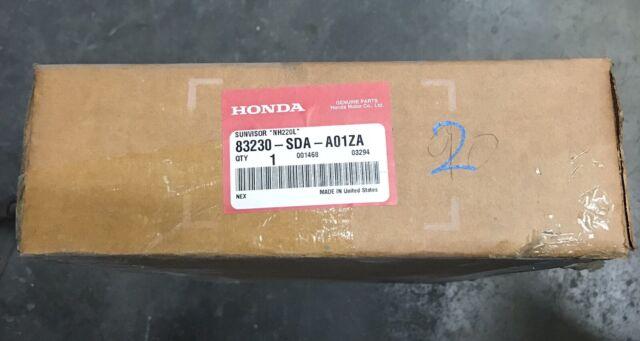Right Honda Genuine 83230-SS0-A20ZA Sun Visor Assembly