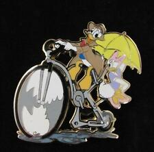 Disney Shopping Pin 2007 Donald & Daisy Duck April Showers Series LE 250