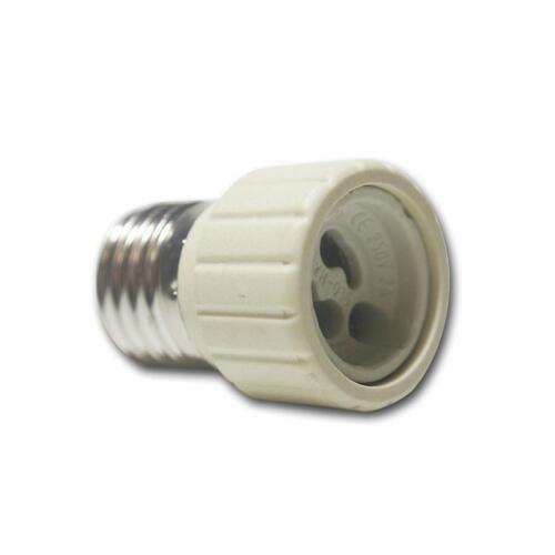 Adapter für Lampenfassung E27 auf GU10 Keramik-Fassung