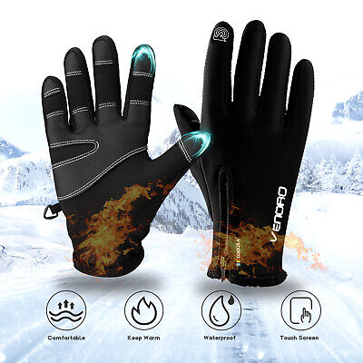 Winter Ski Gloves Touch Screen Snowboard Sports Motorcycle Gloves For Men Women