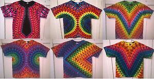 New Tie Dye Youth XL Short Sleeve T-shirt Gildan or Alstyle 100/% Cotton