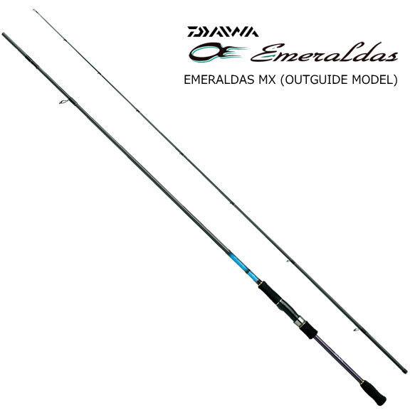 DAIWA. EMERALDAS  MX 86M. for Eging Rod.  classic style