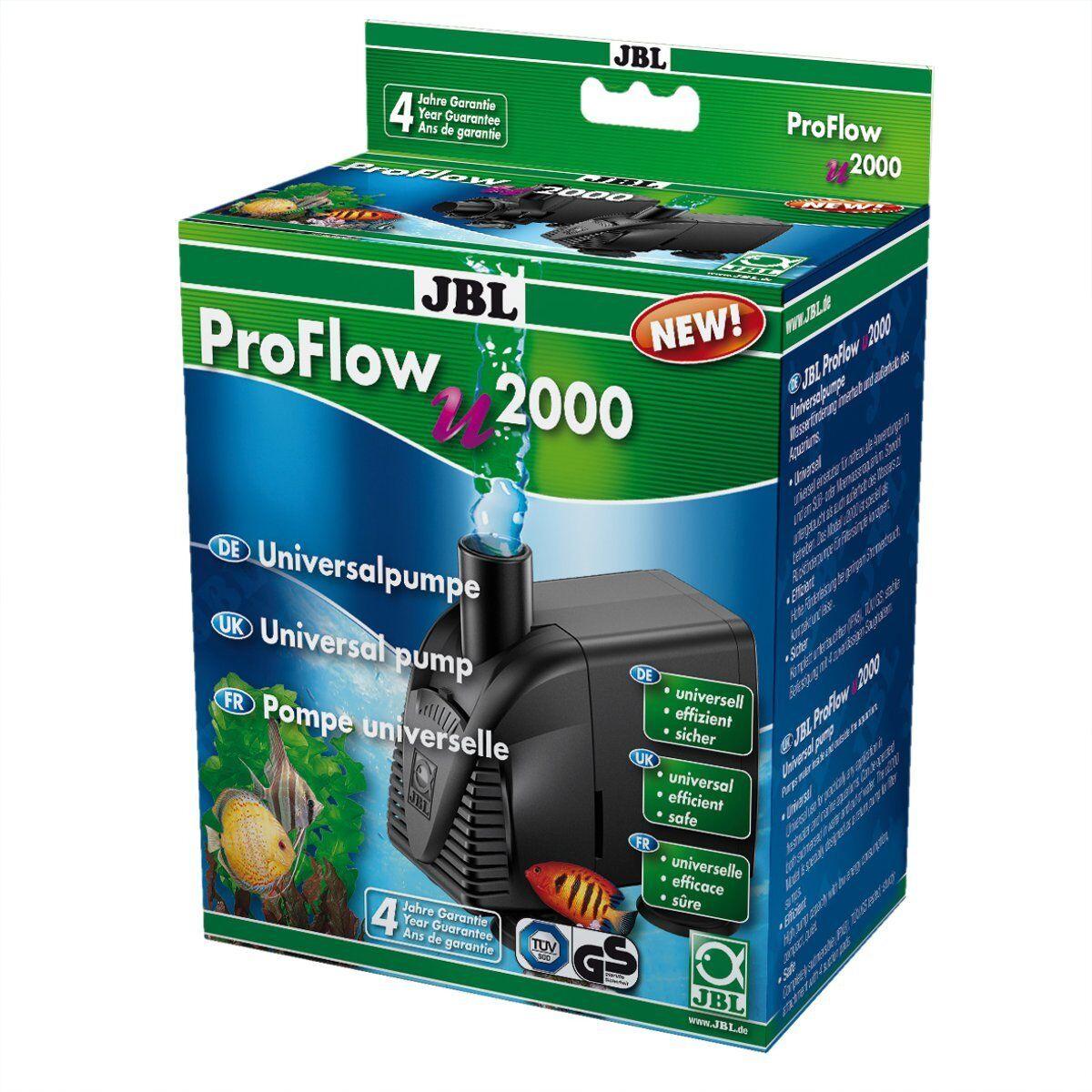 JBL Proflow U2000  Pompa Universale  Acquari Terrari Pompa Accessori