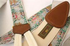 *MINT* TRAFALGAR Limited Braces/ Suspenders Hawaiian Hula Dancers Boats