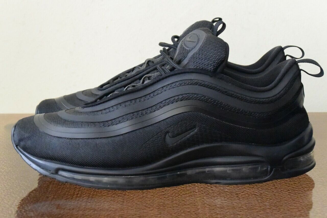 61ee20132f Nike Air Max Ultra '17 Black 918356-002 Sz 10.5 97 Triple nxlqaw325 ...