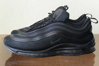 anunciar Por Canal  Nike Air Max 97 Ultra '17 Triple Black 918356-002 Sz 10.5 | eBay