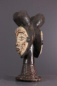CIMIER-PUNU-AFRICAN-ART-AFRICAIN-PRIMITIF-ARTE-AFRICANA-AFRIKANISCHE-KUNST