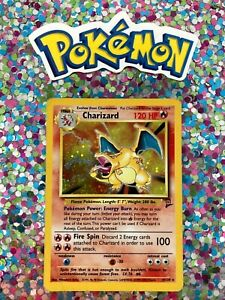 Classic-1st-Gen-English-Charizard-Holo-Base-Set-2-WotC-Card-Non-Shadowless