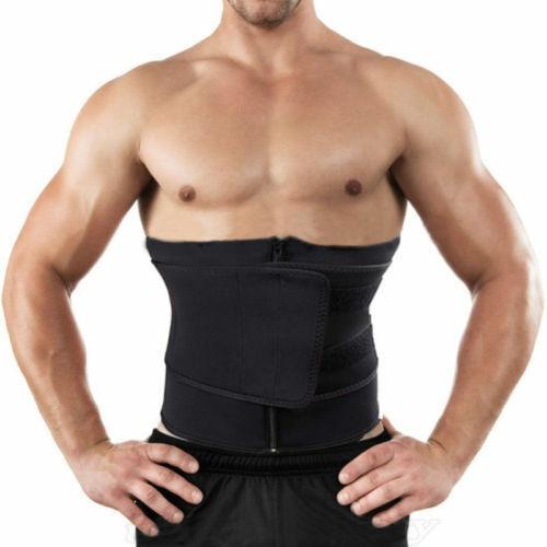 Women Men Fajas Sweat Body Shaper Waist Trainer Cinchers Wrap Belt Shapewear US
