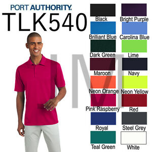 6d716e5d Port Authority TLK540 Mens TALL Silk Touch Dri-Fit Polo Shirt LT ...