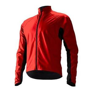 2014-Cannondale-Men-039-s-Sirocco-Wind-Jacket-3M317-Large-Red-NEW