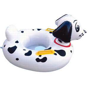 Inflatable-Kids-Baby-Toddler-Swimming-Pool-Swim-Seat-Float-Boat-Ring-Dog-Kid-Aid