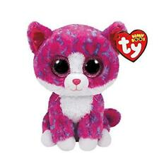 Ty Beanie Boo Charlotte Pink Cat Large Jumbo 16 FREE SHIPPING for US BUYERS  New 892ad48772f2