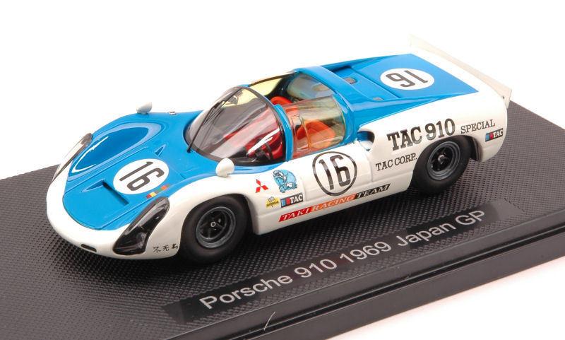 Porsche 910  16 Japan GP 1968  Kazato Hasegawa 1 43 Model 44792 Ebbro  branché