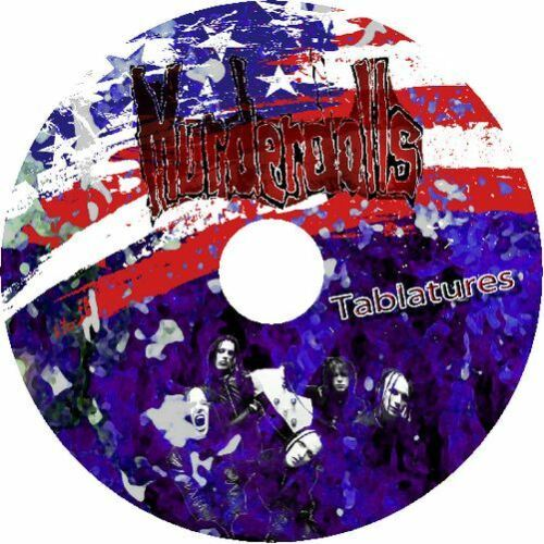 MURDERDOLLS BASS /& GUITAR TAB CD TABLATURE GREATEST HITS BEST OF MUSIC ROCK