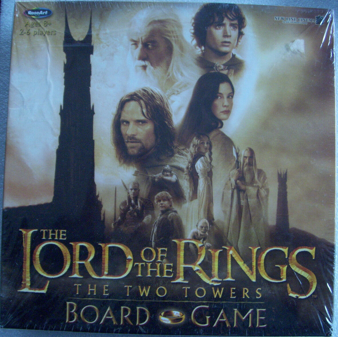 The Lord Of The Rings Two Towers Board Game ( New, Factory Sealed )