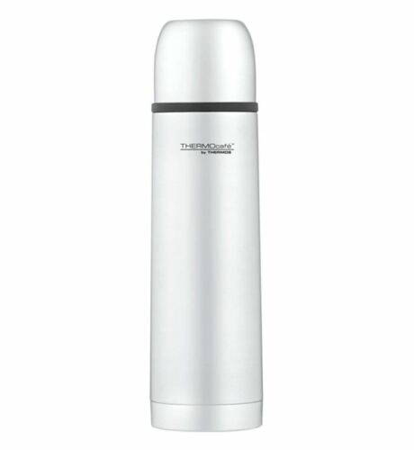 Thermos Thermocafe Stainless Steel Camping Walking Hot Cold Drink Flask 0.5L