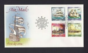 PNG476-Papua-New-Guinea-1988-Ships-IV-Air-Mail-FDC