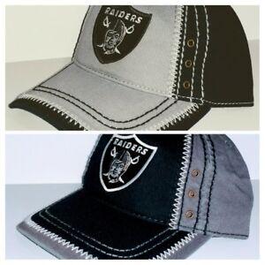 e9cdf3d99ccb4 Oakland Raiders Zig Zag Stitched Cap ✨Hat ✨CLASSIC NFL PATCH LOGO ...
