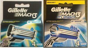 Gillette-Mach-3-Mach-3-Turbo-Razor-Blades-100-Genuine-JOBLOT-970-SOLD