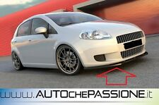 Splitter/Spoiler anteriore per Fiat Grande Punto no abarth e evo