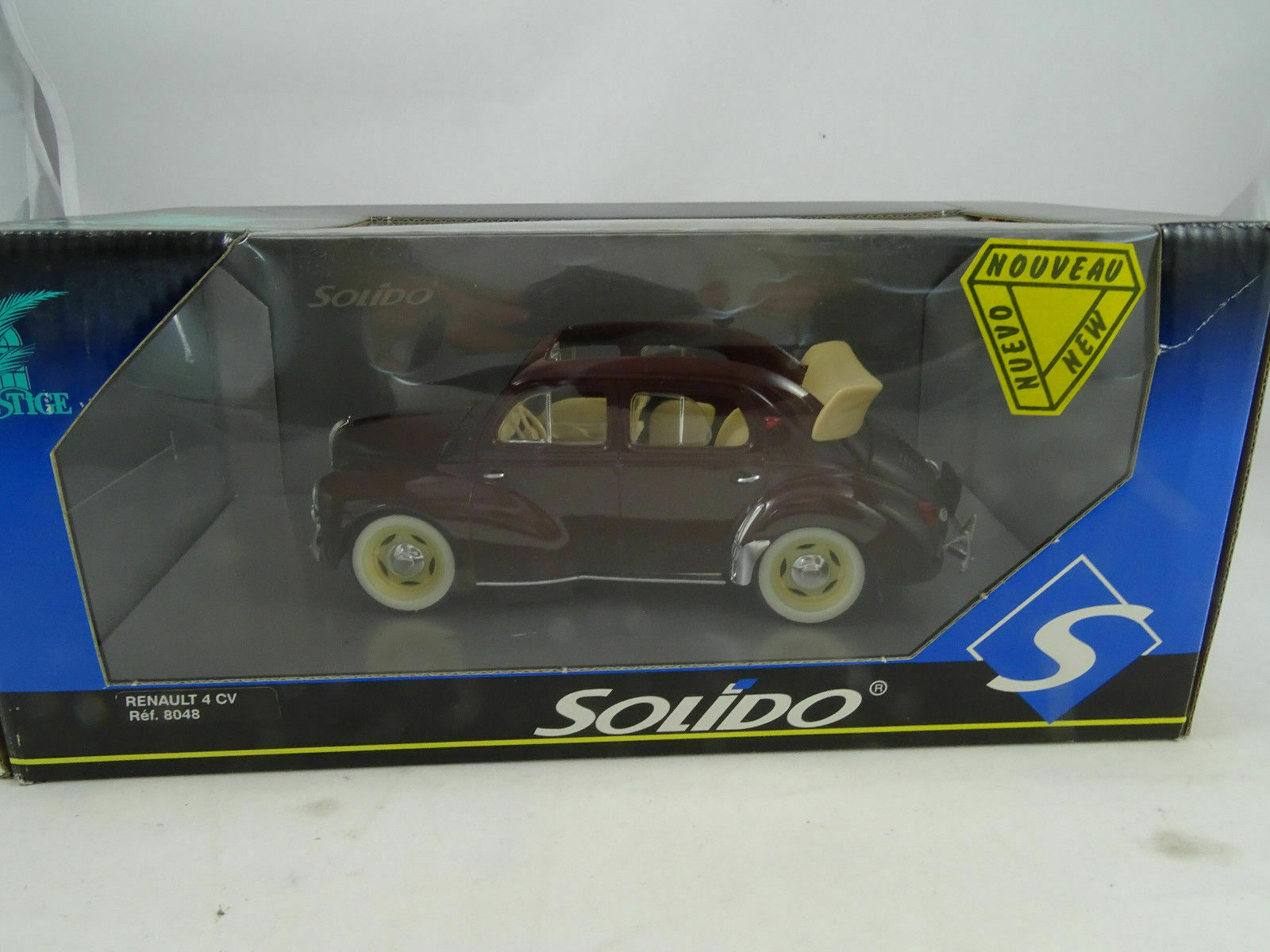 venta caliente 1 18 Solido Prestige  8048 Renault 4 Cv Cv Cv Cabrio Rojo Vino - Rareza  comprar marca